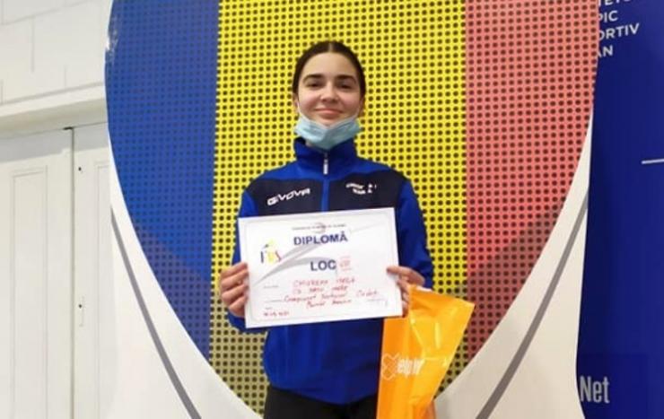 Rezultat bun obținut de Maria Chiorean la Naționalele de floretă pentru cadeţi şi juniori