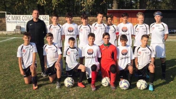 Juniori U15 | Puștii de la LPS Satu Mare au început cu o victorie Liga Elitelor U15