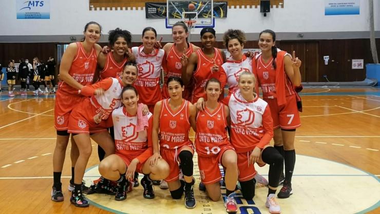 Baschet | CSM Satu Mare a început cu o victorie noul sezon al Ligii Naționale de Baschet Feminin