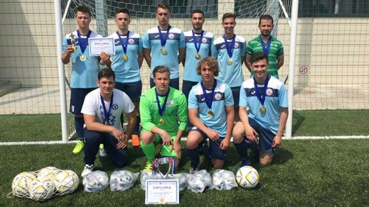 Rezultat de excepție | Echipa Liceului Teoretic Carei, campioană națională la ONSS - fotbal