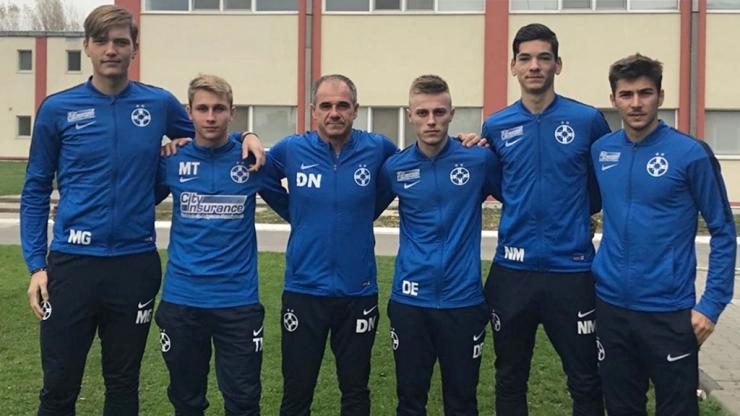 Dacian Nastai are cinci sătmăreni în lotul FCSB II