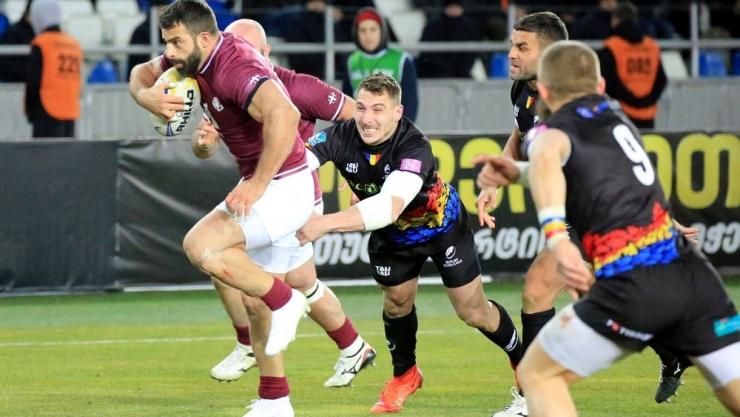 Rugby | România a fost învinsă de Georgia în prima etapă a Rugby Europe Championship