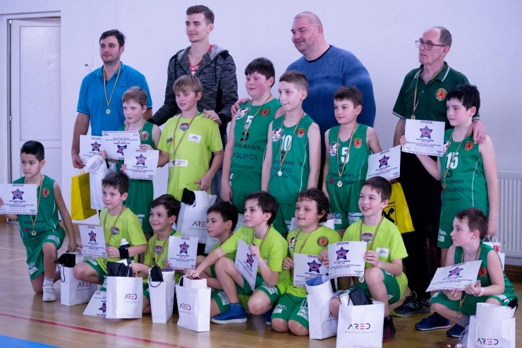 "Baschet | Magicball Academy Satu Mare a participat la ""Next Star Oradea Basketball Tournament"""