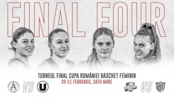 Baschet | Final Four-ul Cupei României se va disputa la Satu Mare
