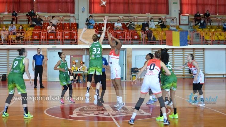 Baschet | CSM Satu Mare a câștigat meciul trei din finala LNBF cu Sepsi
