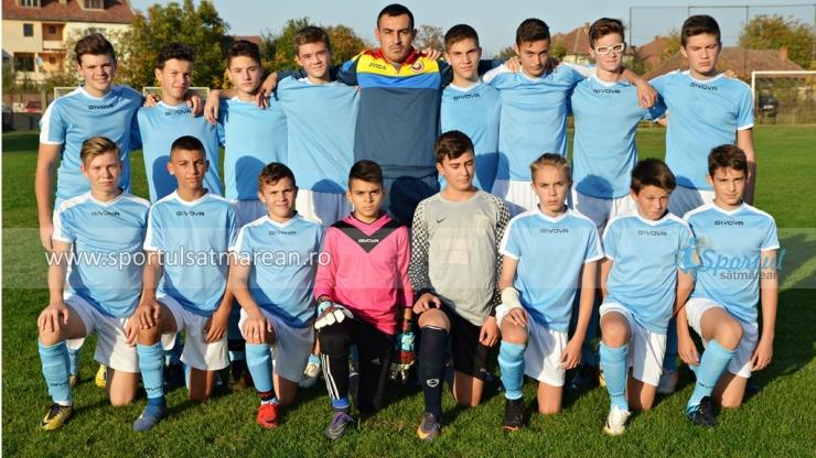 Liga Elitelor U15 | Victorie la scor obținută de LPS Satu Mare, la Zalău