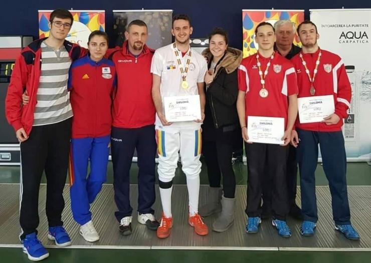 Spadă | Sportivii sătmăreni domină Campionatul Național de Spadă U20