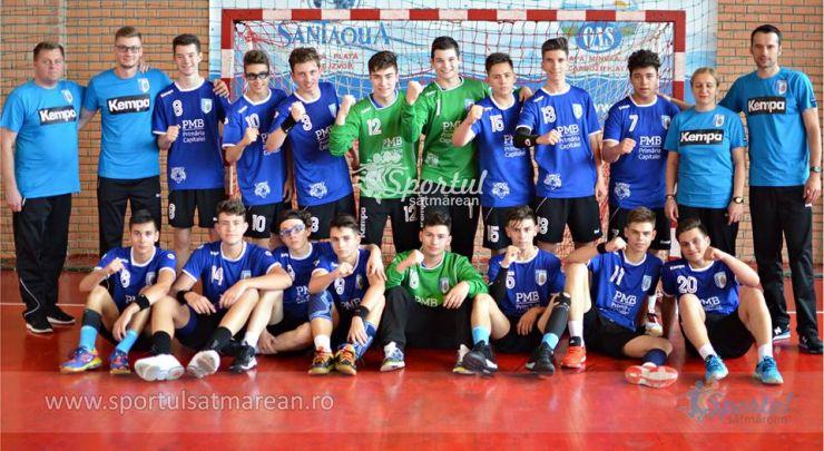 Handbal masculin | Rezultatele înregistrate în prima zi a Turneului final de juniori III de la Satu Mare