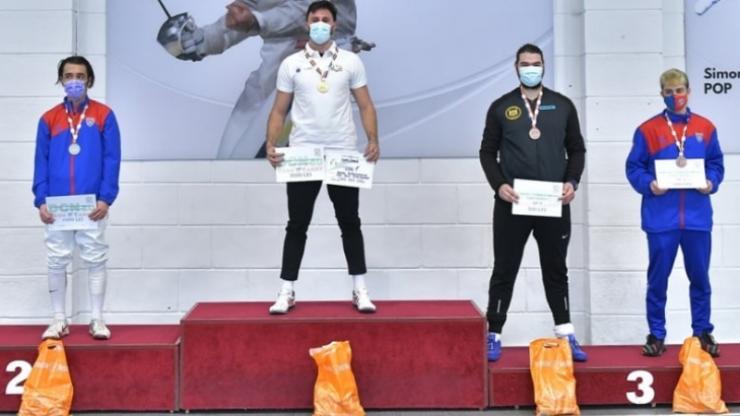 Scrimă | Sătmăreanul Benjamin Bodo a câștigat titlul național la floretă