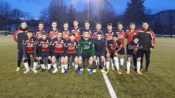 Juniori | Primavera U16 a încheiat la egalitate amicalul cu Universitatea Cluj