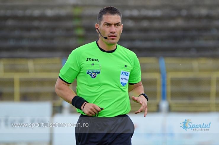Istvan Kovacs, delegat în Liga Campionilor