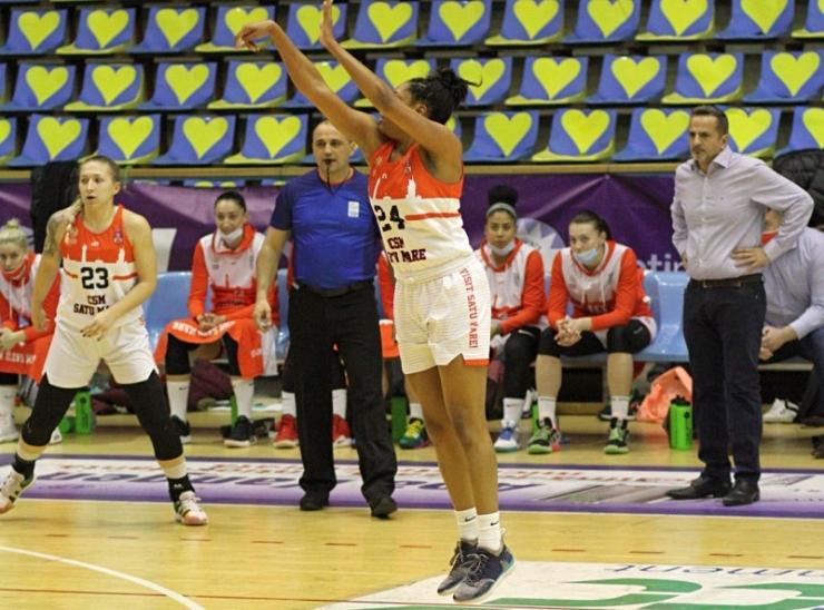 Baschet | CSM Satu Mare a încheiat cu o victorie la scor turneul de la Arad