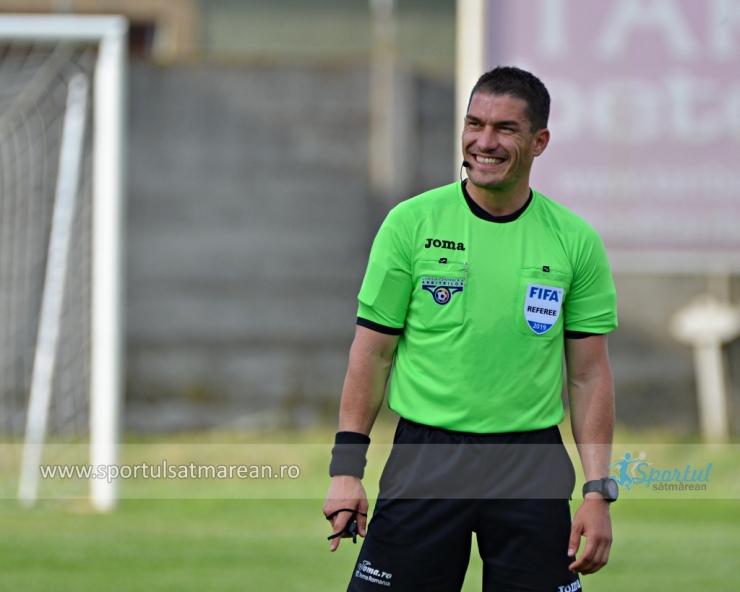 Arbitri | Istvan Kovacs a fost promovat în Elite Class