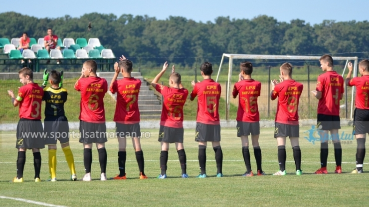 Juniori U16/U17/U19 | Un egal și două înfrângeri pentru juniorii de la LPS Satu Mare