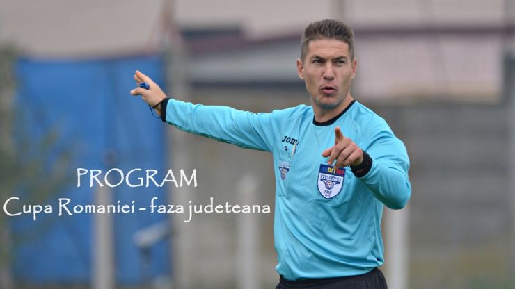 Miercuri și joi sunt programate două meciuri din Cupa României - faza județeană