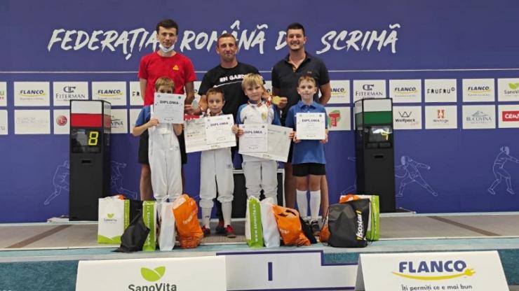 Spadă | Sătmăreanul Mark Haller – campion național la U9. Bencze Nemeti, vicecampion național