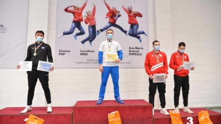Scrimă | Sătmăreanul Benjamin Bodo, vicecampion național la spadă
