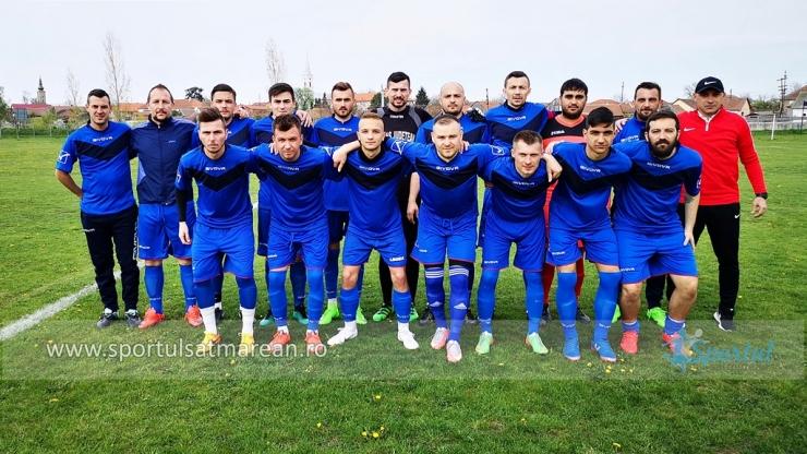 Crasna Moftinu Mic a învins Unirea Pișcolt în 16-imile Cupei României