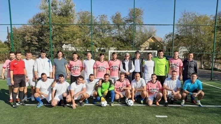 FOTO | Peste 100 de polițiști au participat la Cupa poliției la fotbal, ediția XX