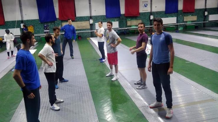 Adam Macska, Alex Oroian și Balasz Szilagyi se pregătesc pentru Campionatul European