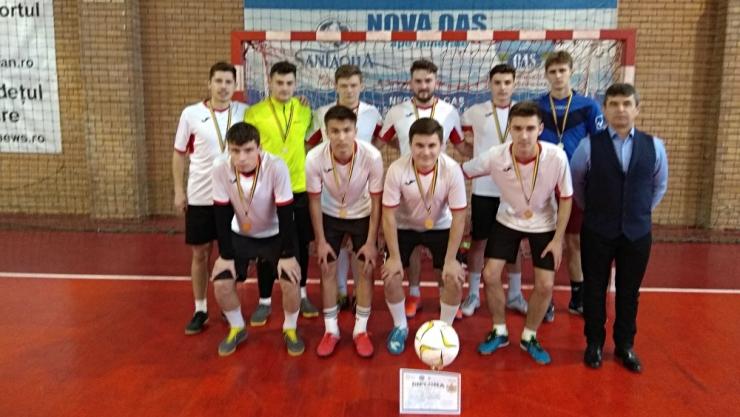 ONSS | LPS Satu Mare a câștigat faza județeană la fotbal băieți - învățământ liceal
