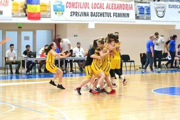 Baschet U16 | Trei din trei. Baschetbalistele de la LPS CSS Satu Mare și-au asigurat o medalie națională