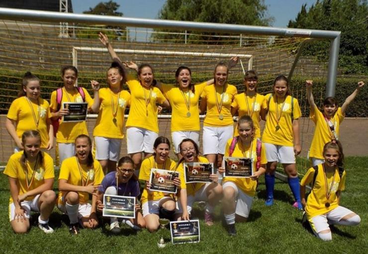 Fotbal feminin | Daliana Carei a câștigat ediția 2019 a Cupei Vacanţa