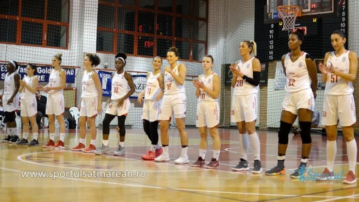 Baschet | CSM Satu Mare a câștigat meciul restant cu ICIM Arad