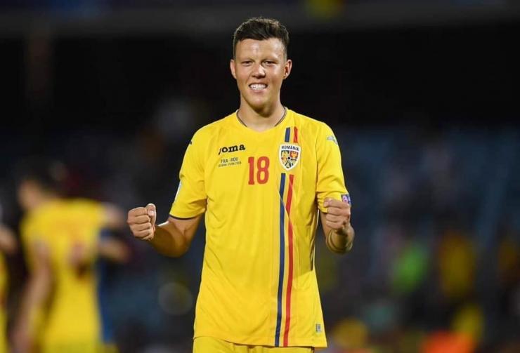 Echipa națională | Adrian Rus se află pe lista preliminară a stranierilor convocați de Cosmin Contra pentru meciurile cu Spania și Malta