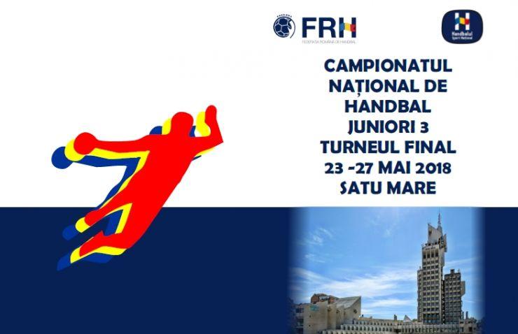 Handbal masculin | Satu Mare găzduiește Turneul final de juniori III