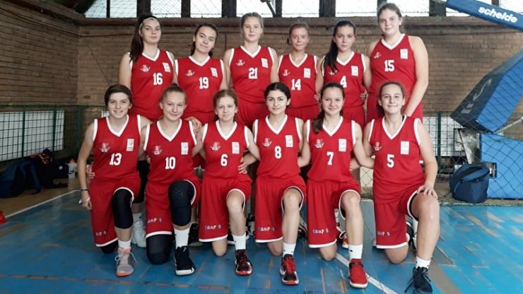 Baschet | Fetele de LPS Satu Mare au început cu o victorie Turneul Final U18