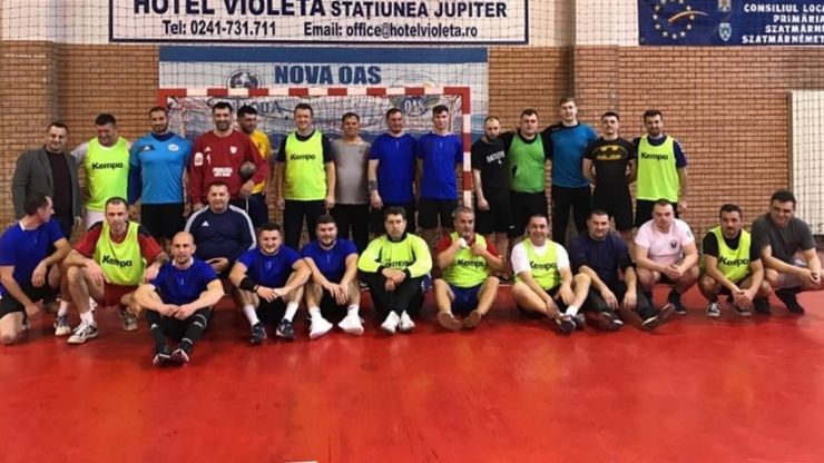 Handbaliștii sătmăreni s-au întâlnit pentru un meci de old-boys