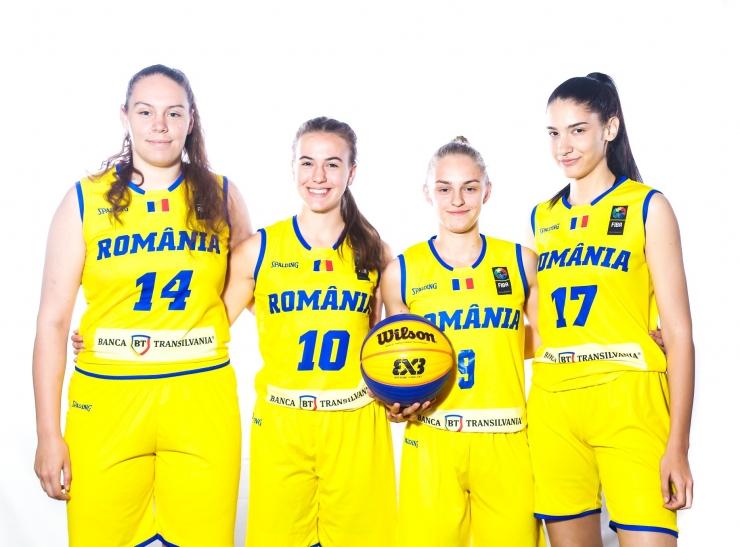 Baschet | Rebecca Lipovan se află în pregătiri cu echipa națională U18