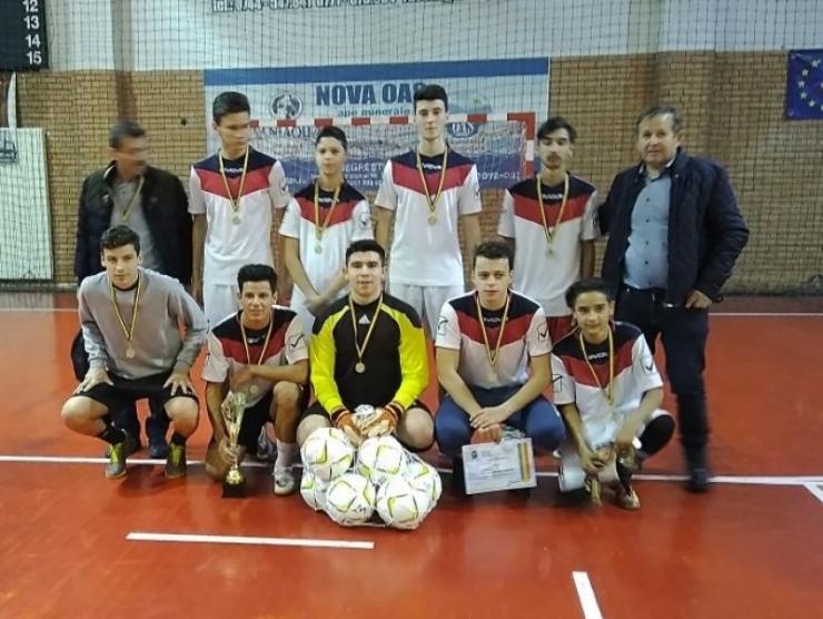 Recolta Sanislău a câștigat Cupa AJF SM la fotbal în sală
