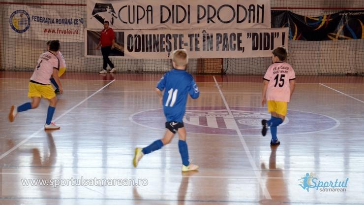 Didi Prodan, comemorat de micii fotbaliști