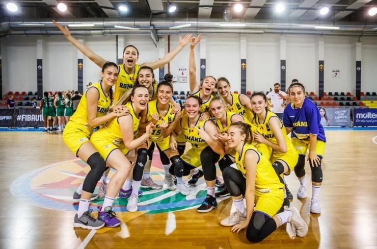 Baschet | România U18 s-a calificat în sferturile de finală ale FIBA U18 Women's European Championship