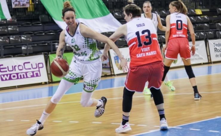 Baschet | CSM Satu Mare a pierdut în ultimele secunde primul joc al finalei cu Sepsi