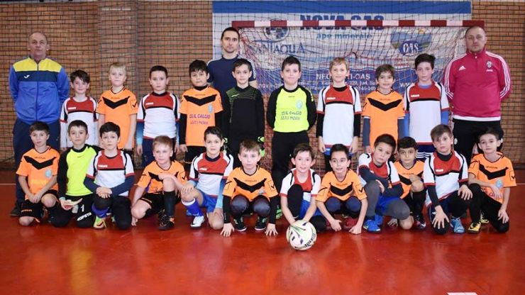 Fotbal juniori | Turneu amical la Sala LPS Ecaterina Both