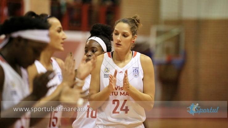 Baschet | CSM Satu Mare s-a impus fără probleme la Brașov