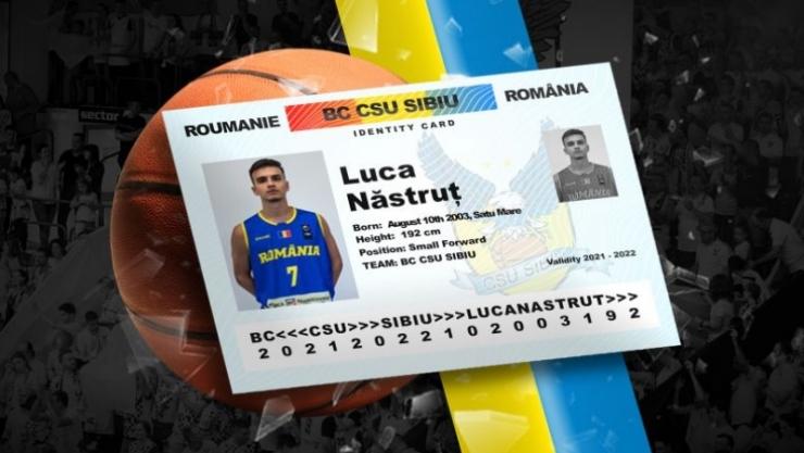 Baschet | Sătmăreanul Luca Năstruț va juca pentru BC CSU Sibiu