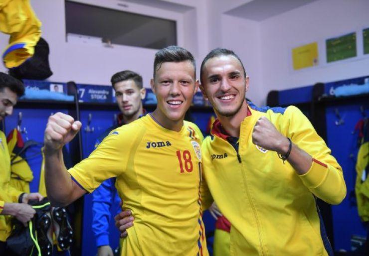 Sătmăreanul Adrian Rus, integralist în victoria României U21 cu Bosnia-Herțegovina