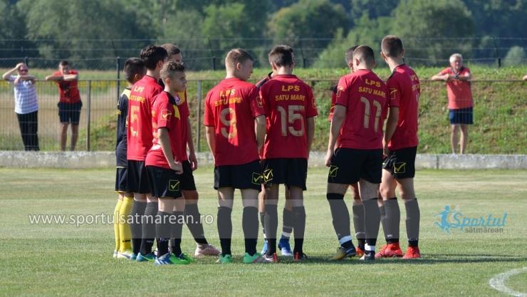 Juniori | Două victorii, un egal și o înfrângere pentru juniorii de la LPS Satu Mare