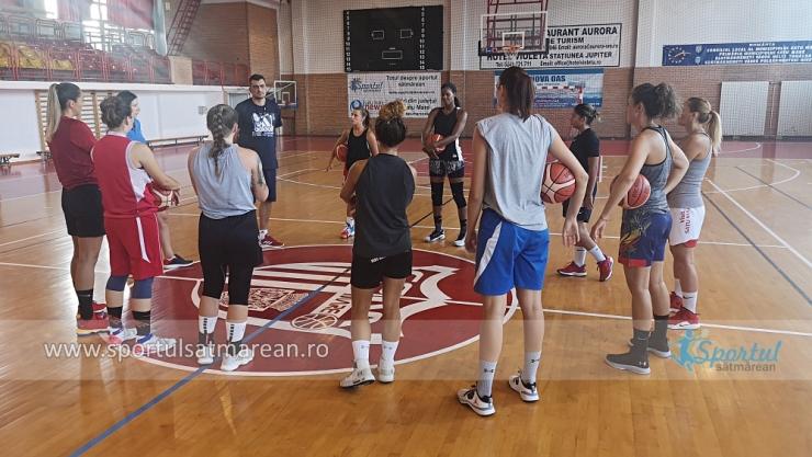 Baschet | CSM Satu Mare începe astăzi noul sezon
