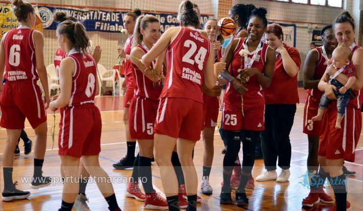 Baschet feminin | Sepsi a învins CSM Satu Mare în meciul patru al finalei și a cucerit al treilea titlul consecutiv