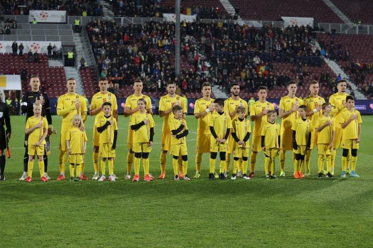 Tricolorii U21 încheie anul neînvinși. Adrian Rus, titular în remiza cu Belgia