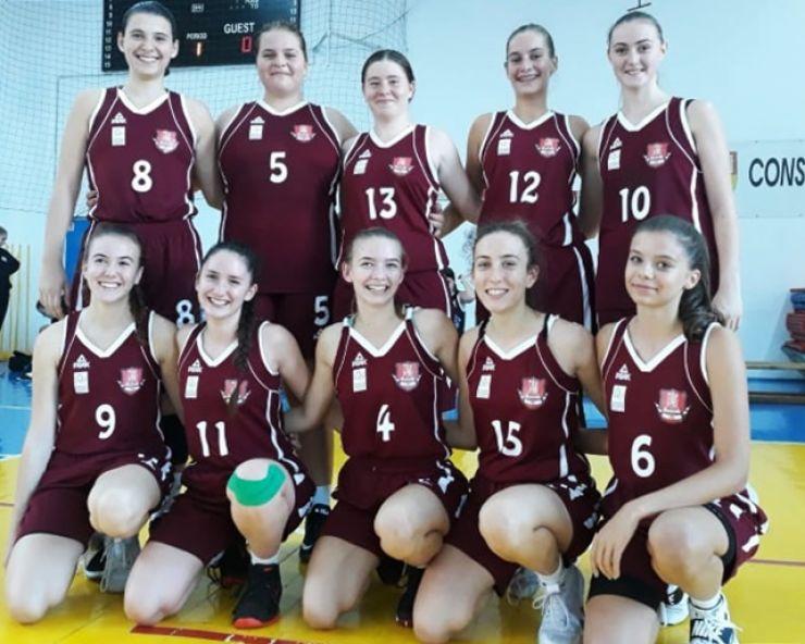 Baschet U18 | Două victorii și o înfrângere pentru fetele de la LPS Satu Mare