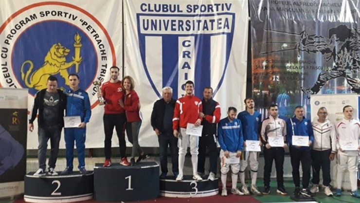 Spadă | Adrian Szilagyi, medalie de bronz la Cupa României – seniori, individual