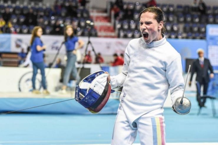 Spadă | Sătmăreanul Alexandru Oroian a câștigat Cupa României la spadă – individual