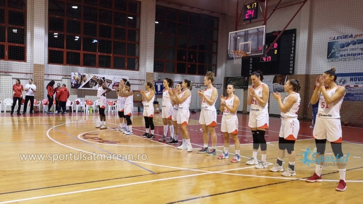 Baschet | CSM Satu Mare a învins Universitatea Cluj, în ultima etapă a turului