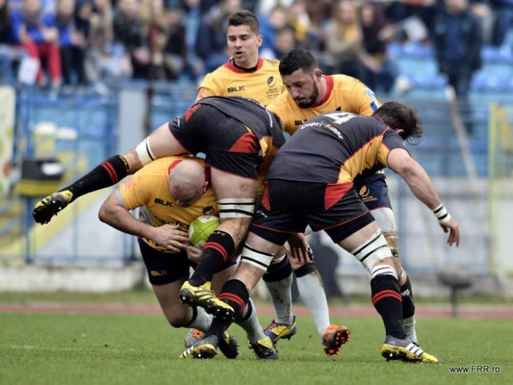 Rugby | România înfruntă Germania, sâmbătă, la Botoșani